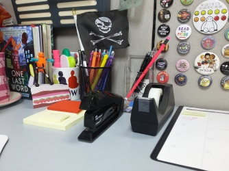 Bulky Staplers and Tape Dispensers can crowd your deskspace