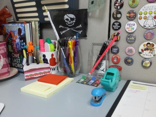 Choosing miniature versions helps maximize deskspace